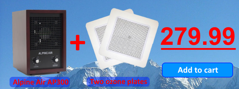 AP300 two ozone plates for $279.99
