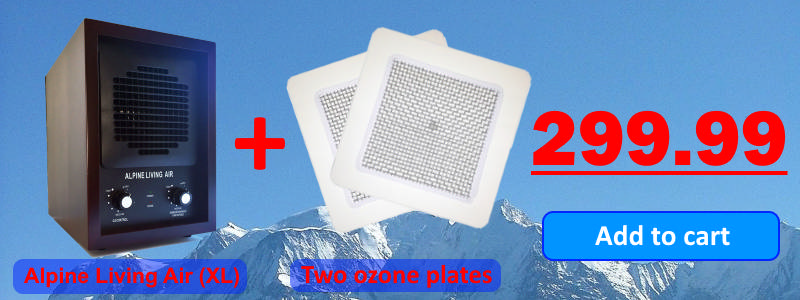 Alpine Living Air XL plus Two ozone plates for $299