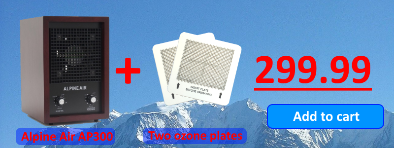 AP300 two ozone plates for $299.99